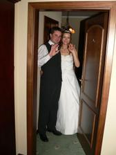 tak a teď nastane ta pravá svatební noc:-)