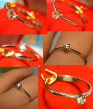 tak tymto nádherným prsteňom som sa sľúbila mojej Láske :)
