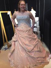 This one is my absolute favourite at the minute! It's David Tutera for Mon Cheri - Courtney
