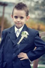 Môj starší syn Dominik ako družba