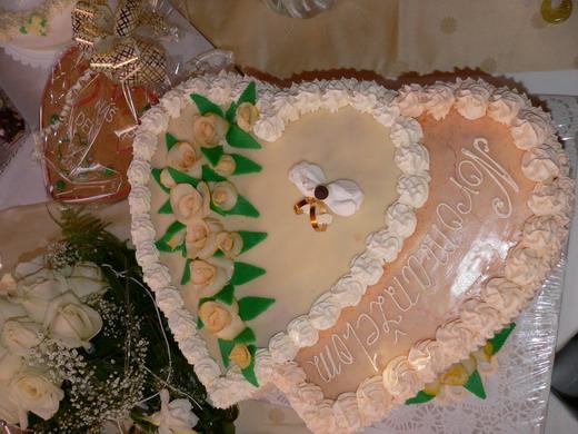 Zuzana K.{{_AND_}}Palko L. - svadobná torta