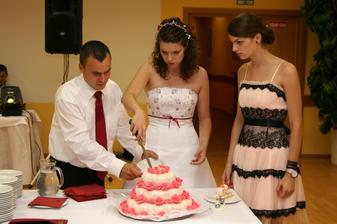 ako tu tortu budeme krájať?