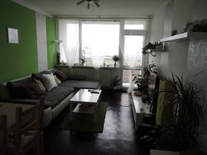 Obývák - pohled od ložnice