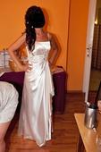 Spoločenské šaty na ples, stužkovú, M