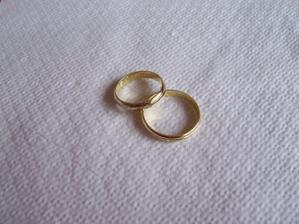 dvojake zlato-biele a zlte