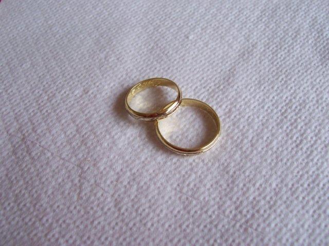 Katka a Edko - dvojake zlato-biele a zlte