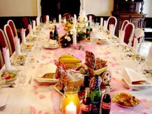 vyzdoba stola