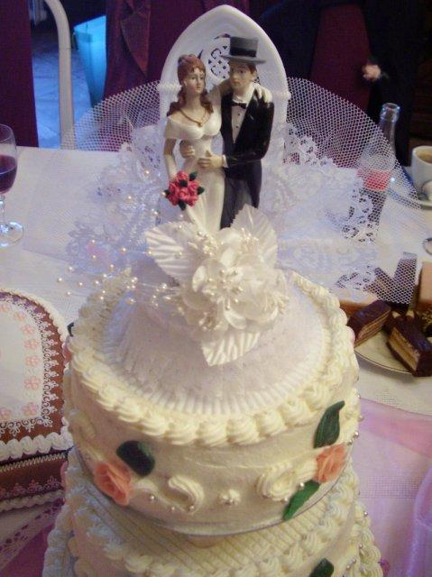 Katarína Knížatová{{_AND_}}Eduard Candrák - svadobná torta