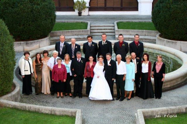 Katarína Knížatová{{_AND_}}Eduard Candrák - svadobná spoločnosť
