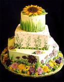 Nasa slnecnicova.... - krasna torticka