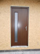 vchodove dvere z ponuky firmy ale so zmenou podla nasho priania. aj to su BF stavby a ich sucast - Stolarstvo Fedor