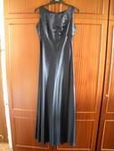 Společenské dlouhé šaty tmavě modré, 40