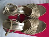 Kožené boty na podpadku 37-37,5, 37