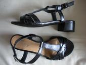 Páskové kožené boty, 38
