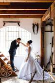 Nádherné prešívané svadobné šaty. , 40