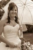 krajkový deštník, podšitý i do deště pc.900,