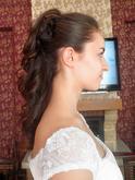 Svatební účes - mobilní kadeřnictví Dolce Diva (přijeli jsme učesat nevěsta na místo svatby)