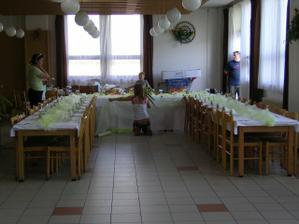 příprava tabule