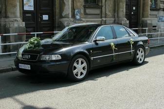limuzína nevěsty