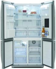 Americká chladnička BEKO  GNE134620X