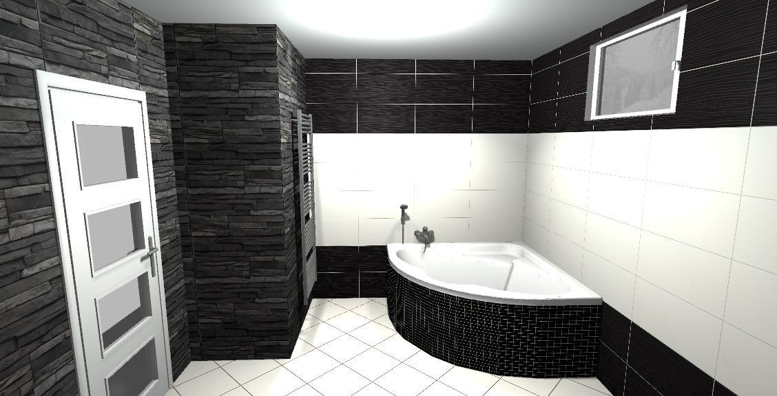 Vivida/vivido-nero /bianco  vizu pre našu spodnú kúpeľňu - Obrázok č. 2