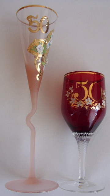 Jubilejné poháre    nepoužívané - Obrázok č. 1