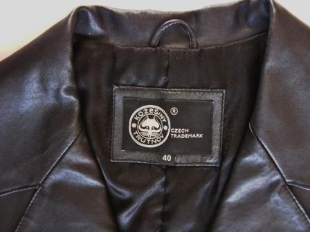 Dámsky kožený kabát  nenosený - Obrázok č. 2