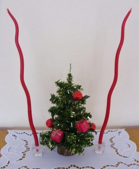 Set vianočný červený    - Obrázok č. 1