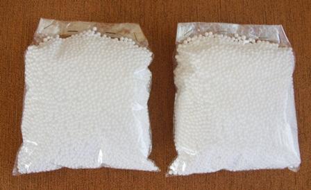 Polystyrenové guličky    nepoužité - Obrázok č. 1