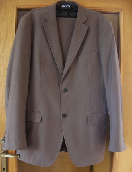 Oblek pánsky nenosený  - Obrázok č. 1