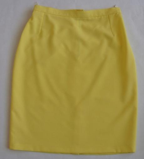 Sukňový kostým žltý - Obrázok č. 3