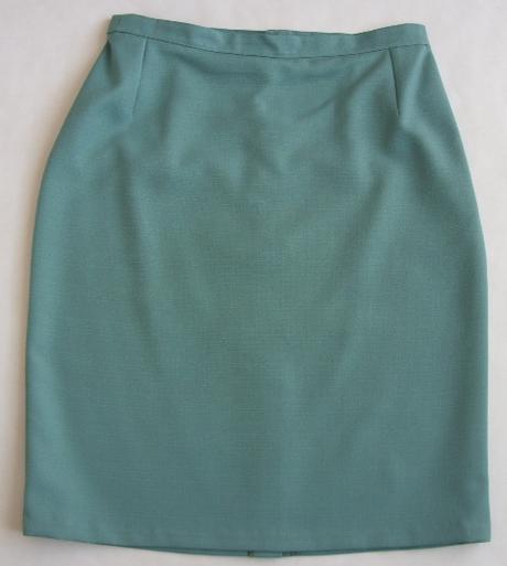 Sukňový kostým zelený - Obrázok č. 2