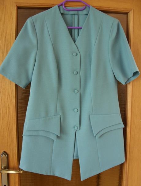 Sukňový kostým zelený - Obrázok č. 1