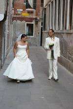 jedna z čarovných uličiek Benátok