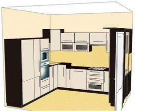 """návrhy našej kuchynky..pôvodný nápad manžela..do detailov navrhla a prepracovala """"firmička"""" kt.ju zrealizuje na mieru"""
