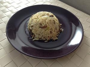 Houbové rizoto podle apetitu