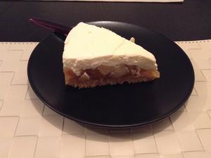 Nepečený dort s jablky ;)