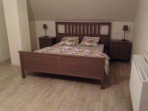 Konečně, ložnice se rýsuje ;)
