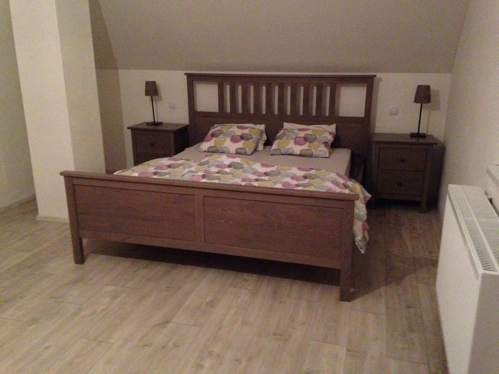 Náš domeček - Konečně, ložnice se rýsuje ;)