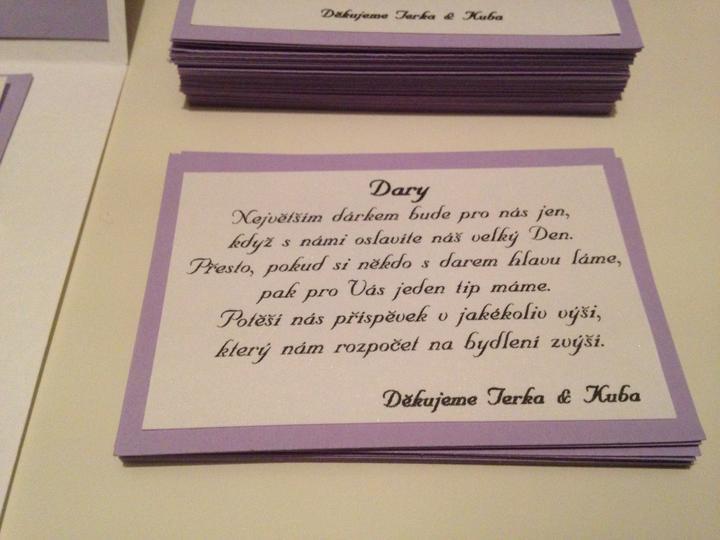 Tvoříme ... - Dary