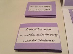 Zvací kartičky
