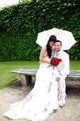 Luxusní svatební šaty zn. Miss Paris, 38