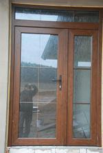 konečně opravené dveře
