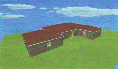 a nějak takhle by měl domeček vypadat