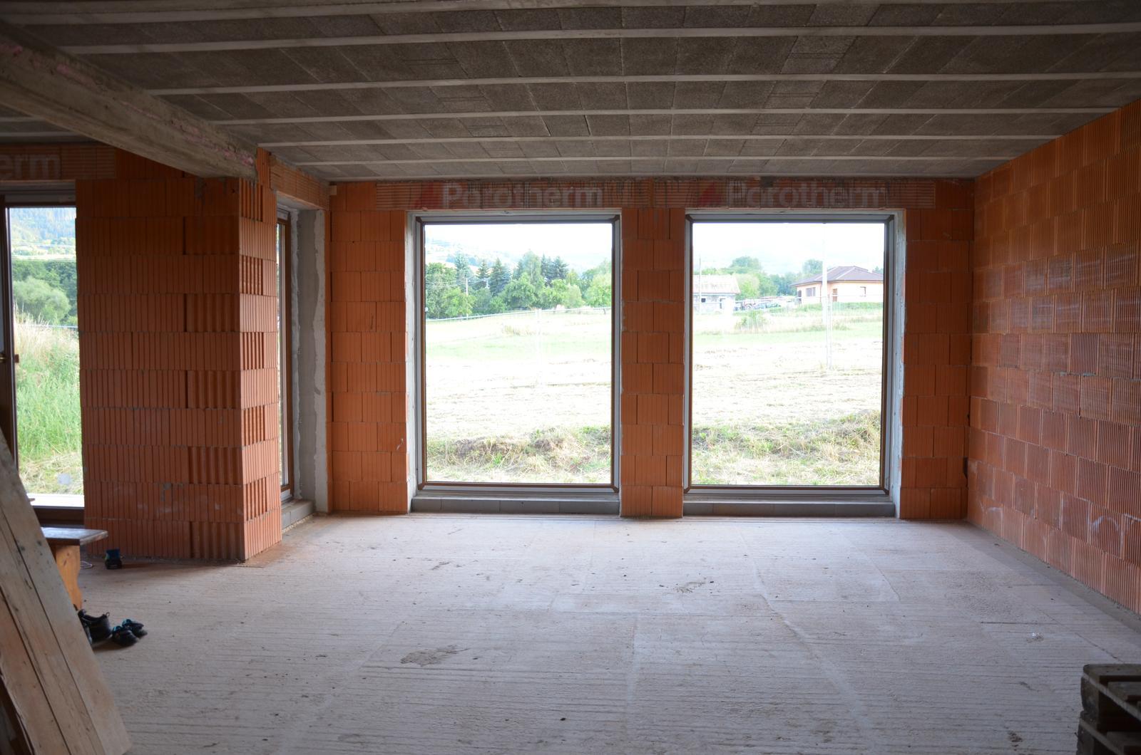 Náš budúci domov - Už máme aj okná 1.8.2015