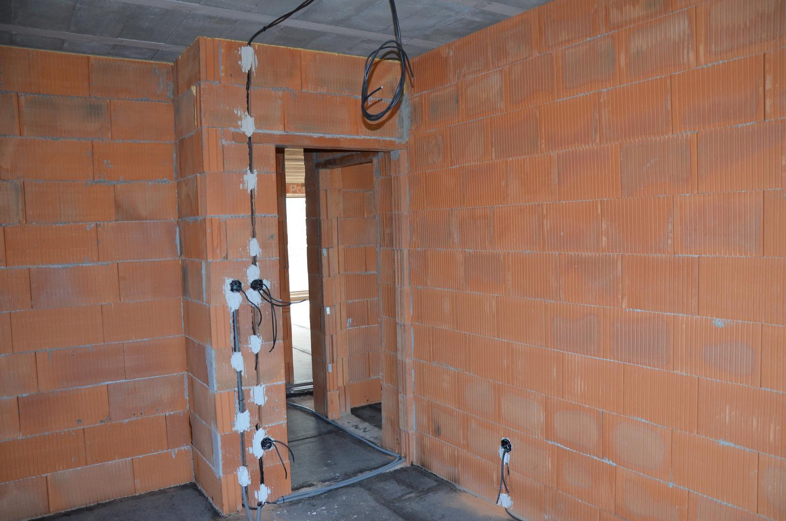 Náš budúci domov - Pokračujeme - elektrika: detská izba č. 1. 28.2.2016