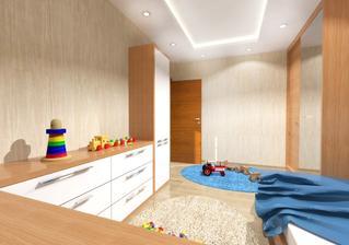 Vizualizácia detská izba syn