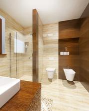 Vizualizácia kúpeľňa rodičia