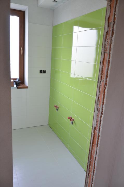 Kúpeľňa deti už obkladamé aj vyšpárované