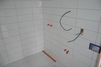 Podkrovie - kúpeľňa hosťovská